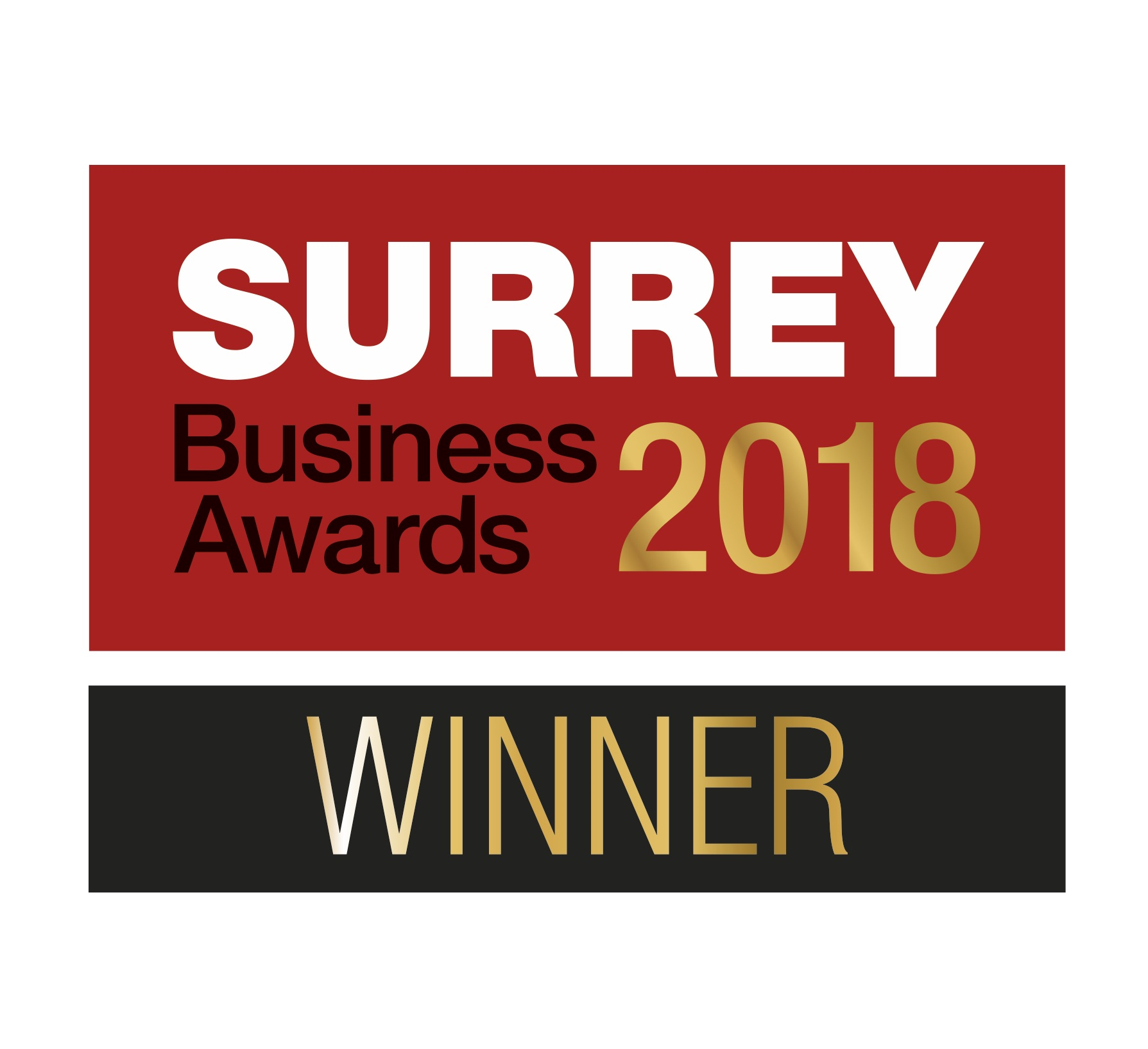 Surrey Business Awards 2018 Winner